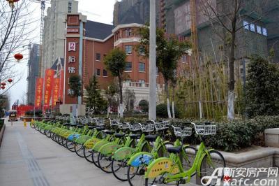万成·哈佛玫瑰园自行车停靠站点
