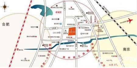 七彩世界欢乐城交通图