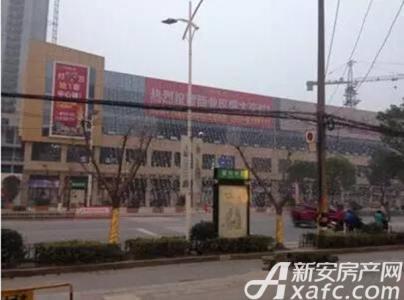中央商业广场工程进度