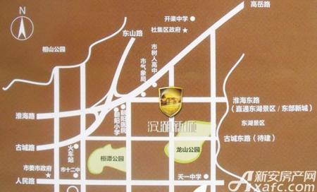 万泰滨湖新城交通图