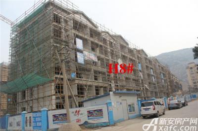 淮北凤凰城3月项目进度:H8#