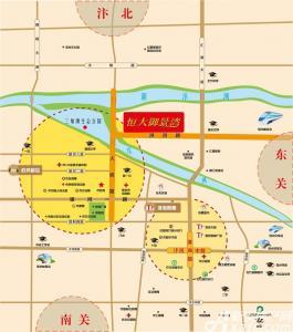 恒大·御景湾交通图