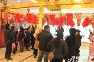 淮北凤凰城元宵节 猜灯谜20160221