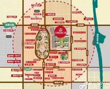 六安万达广场【商铺】交通图