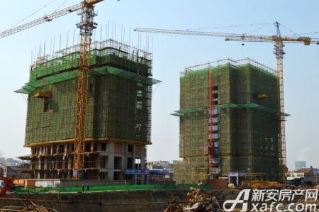恒丰城东新城工程进度