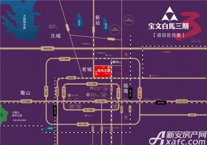 宝文白马3期交通图