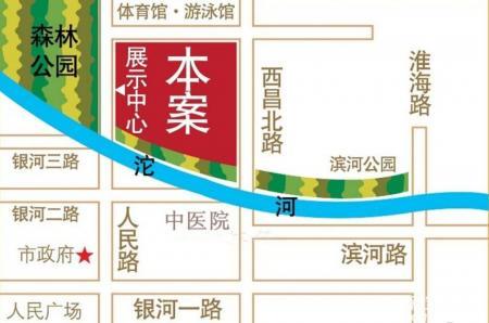 天鹅湾·水岸缇香交通图
