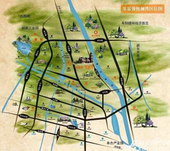 乐富强悦澜湾交通图