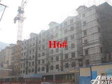 淮北凤凰城4月进度:H6#