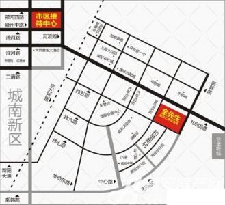 皖北二手车大市场交通图