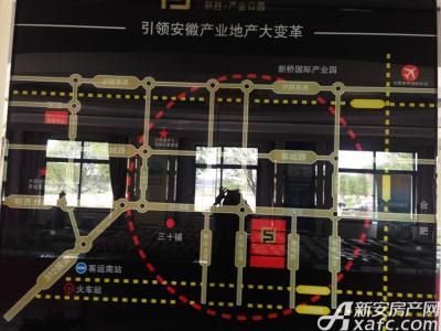 联胜产业园交通图