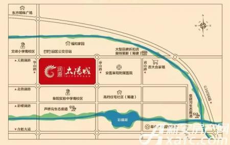 润源太阳城交通图
