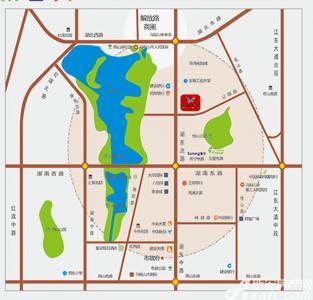 华海城市广场配套图