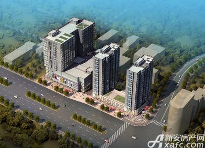 华海城市广场效果图