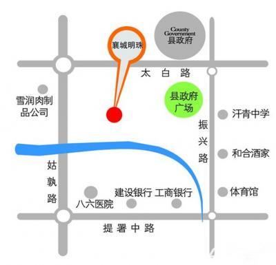襄城明珠襄城明珠交通图