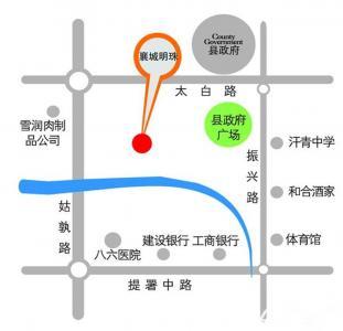 襄城明珠交通图