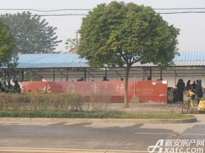 襄城明珠北门广场