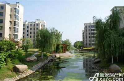 襄城明珠小区实景图