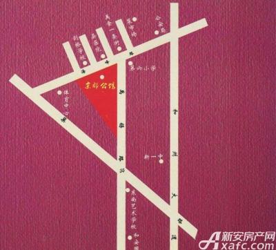 京都公馆交通图