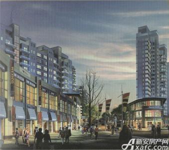 博文城市广场实景图