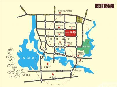 融盛观邸(盛苑景城)交通图