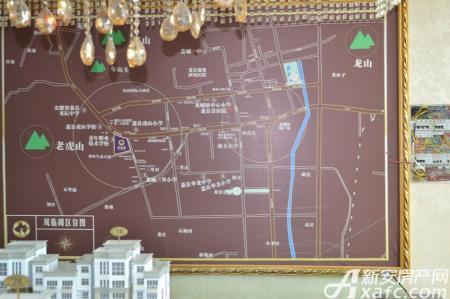 凤临阁交通图