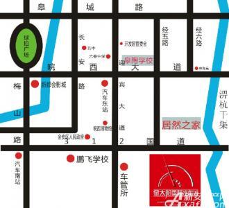 金太阳国际汽车城交通图