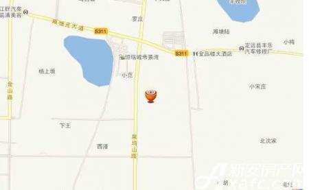 恒瑞帝景湾交通图
