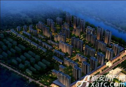 和泰国际城效果图