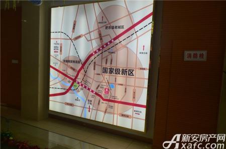 安建锦绣花园交通图