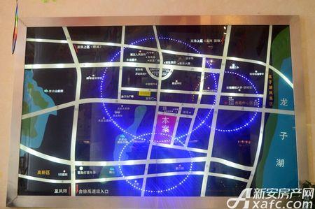 琥珀新天地交通图