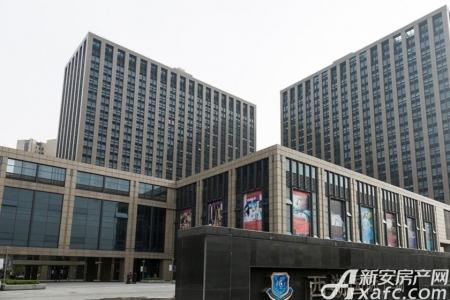 西湖国际广场工程进度