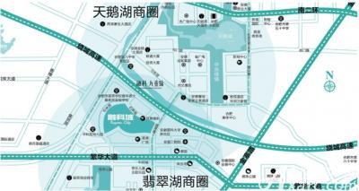 融创城融科城区位图
