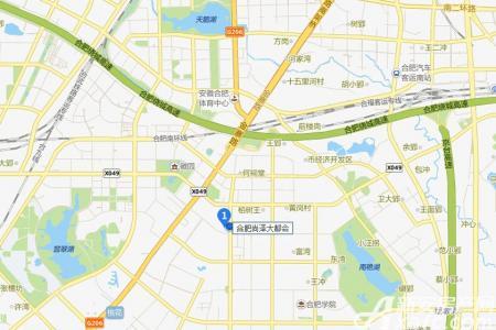 尚泽大都会商办空间交通图