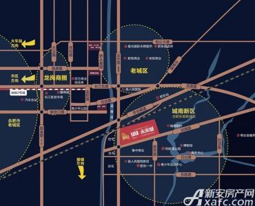 斌锋未来城交通图