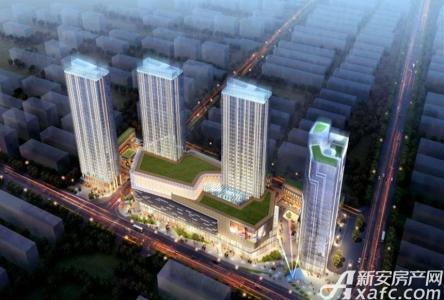 大宁缤购商业广场效果图