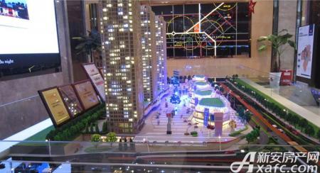蓝光时代红街商业实景图
