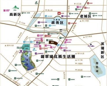绿城翡翠湖玫瑰园交通图