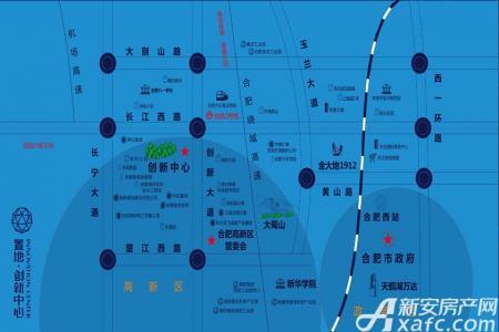 置地创新中心交通图