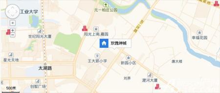 壹环城交通图