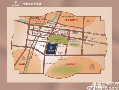 瑞泰中央城交通图