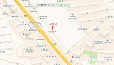 中星城交通图
