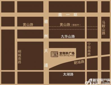 宝利丰广场商业交通图