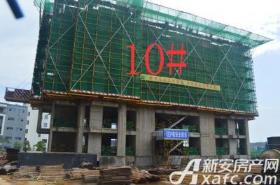 金銮御林河畔10号楼 项目进度 2016-7