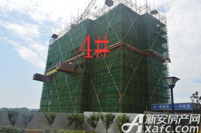 金銮御林河畔四号楼 项目进度 2016-7