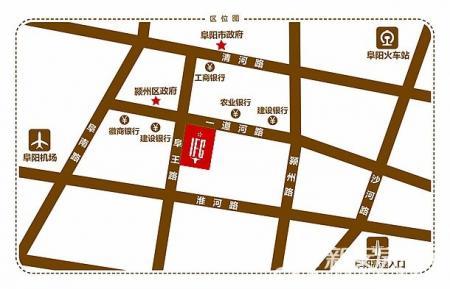 金悦IFC国际金融中心交通图
