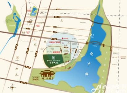 帝景珑湾交通图