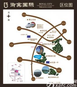 御宾国际·慧谷交通图