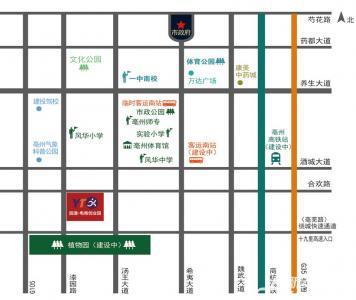 圆通电商创业园交通图