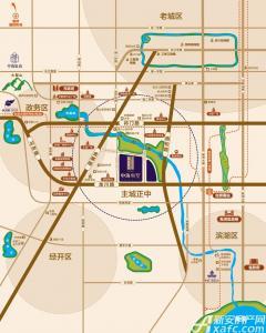 中海央墅交通图